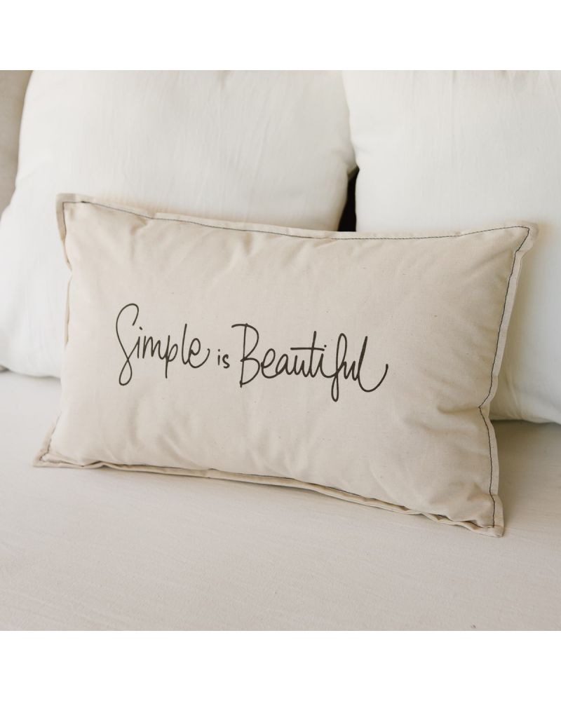 ALMOHADON SIMPLE IS BEAUTIFUL