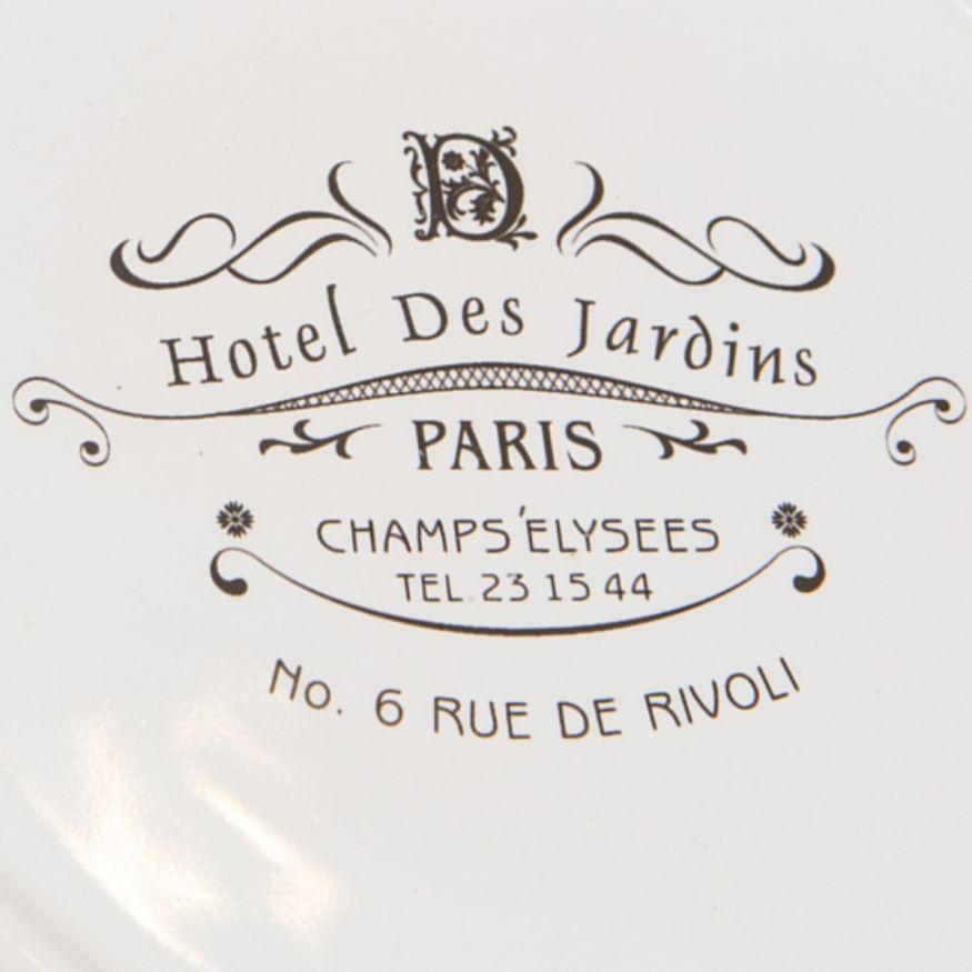 Jabonera Paris Porcelana